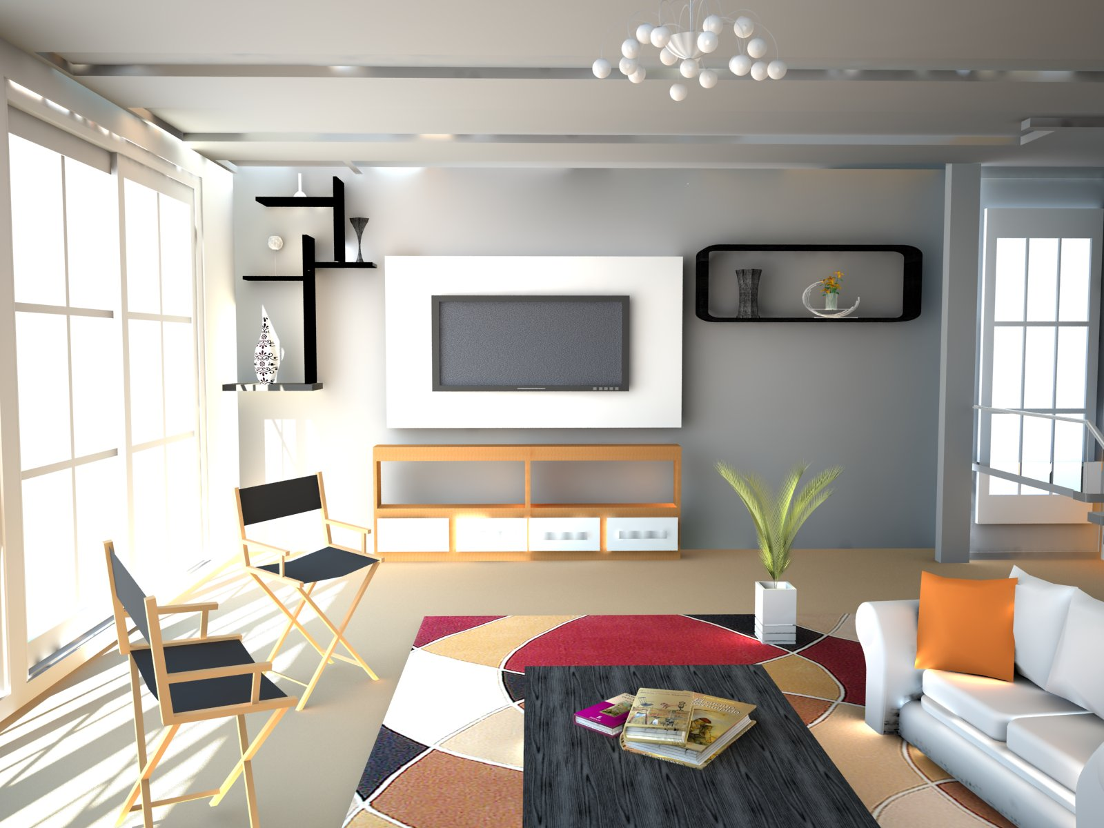 Designing a TV room